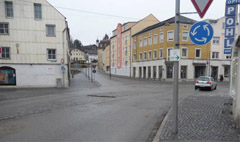 Carcassonner Platz in Eggenfelden